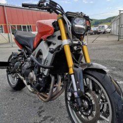 Yamaha MT09 Café Racer